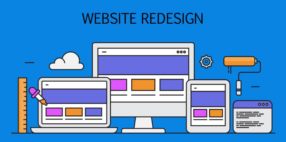 Редизайн сайта под ключ