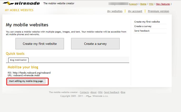 Теперь можно указывать домен и начинать редактировать: